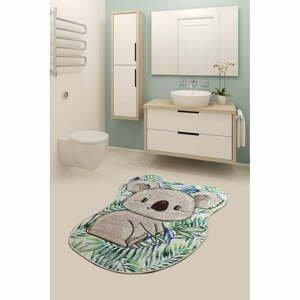 Kúpeľňová predložka s motívom koaly Chilai Bamboo, 100 x 80 cm