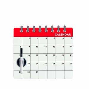 Magnetická tabuľa na chladničku Balvi Calendar