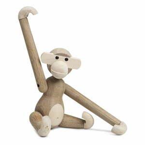 Soška z masívneho dreva Kay Bojesen Denmark Monkey Solid