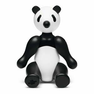 Soška z masívneho bukového dreva Kay Bojesen Denmark Pandabear