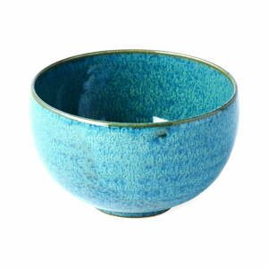 Tyrkysovomodrá keramická miska MIJ Peacock, ø 11 cm