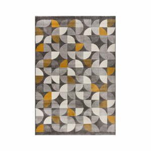 Sivo-žltý koberec Flair Rugs Alcazar, 120 x 170 cm