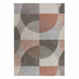 Sivo-ružový koberec Flair Rugs Centro, 160 x 230 cm