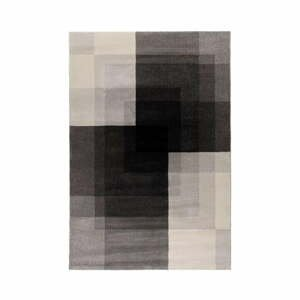 Sivo-čierny koberec Flair Rugs Plaza, 160 x 230 cm