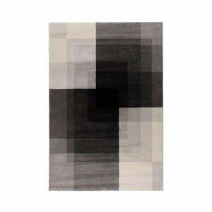 Sivo-čierny koberec Flair Rugs Plaza, 120 x 170 cm