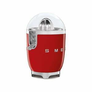Červený citrusový odšťavovač SMEG 50's Retro