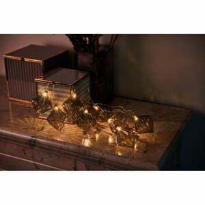Svetelná LED reťaz Sirius Nellie Grey, dĺžka 180 cm