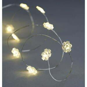 Svetelná LED reťaz Sirius Nynne Silver, dĺžka 190 cm