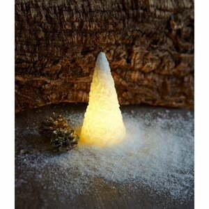 Svetelná LED dekorácia Sirius Snow Cone, výška 15 cm
