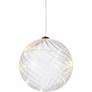 Svetelná LED dekorácia Sirius Wave Ball, Ø 13 cm