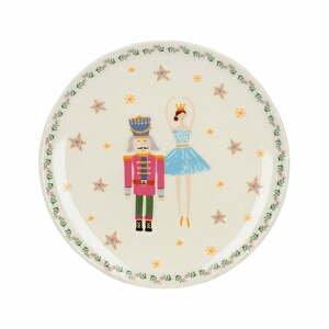 Servírovací tanier KitchenCraft The Nutcracker Ballerina