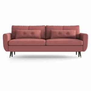 Ružovočervená rozkladacia pohovka Daniel Hechter Home Alchimia