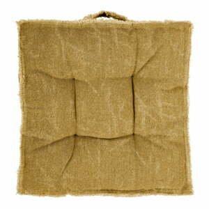 Hnedý sedák Tiseco Home Studio Chester, 45 x 45 cm