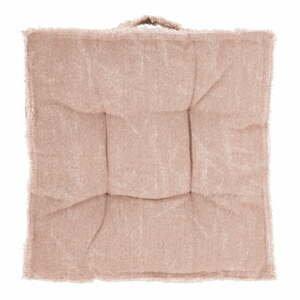 Ružový sedák Tiseco Home Studio Chester, 45 x 45 cm