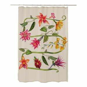 Sprchový záves Madre Selva Wild Flowers, 200 x 180 cm