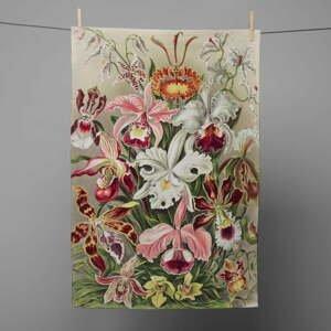 Kuchynská utierka Madre Selva Flower Bloom, 70 x 50 cm