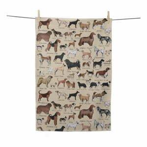 Kuchynská utierka Little Nice Things Dogs, 70 x 50 cm