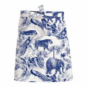 Modro-biela zástera Surdic Lino Safari
