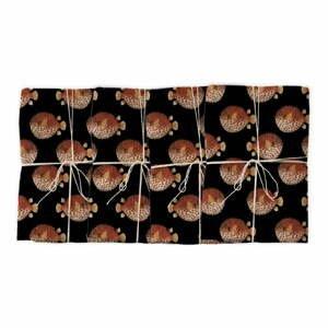 Súprava 4 ks látkových prestieranie Surdic Globo, 43 x 43 cm