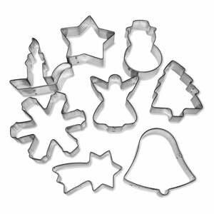 Súprava 8 vianočných formičiek Guardini Christmas