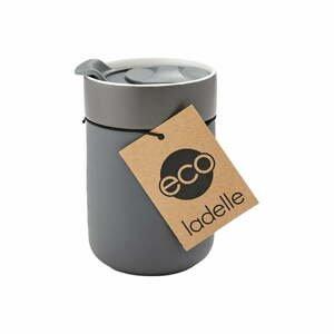 Tmavosivý cestovný termohrnček Ladelle Eco, 300 ml