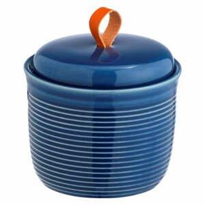 Modrý keramický univerzálny organizér do kúpeľne Wenko