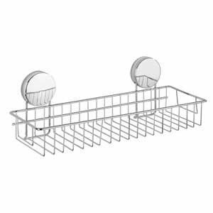 Nástenná polica do kúpeľne Wenko Static-Loc® Osimo Maxi, šírka 35 cm