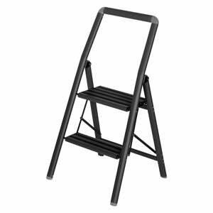 Čierne schody Wenko Compact, výška 91,5 cm