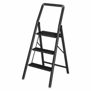 Čierne schody Wenko Compact, výška 114,5 cm