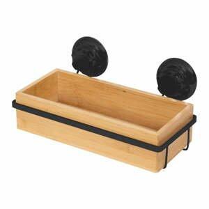 Bambusová samodržiaca kúpeľňová polička Compactor Bestlock SPA