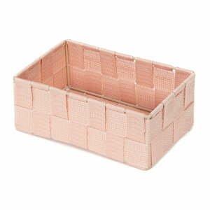 Ružový kúpeľňový organizér Compactor Stan, 18 x 12 cm