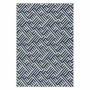 Modro-biely koberec Asiatic Carpets Antibes, 80 x 150 cm