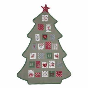 Bavlnený adventný kalendár Green Gate Charline Tree