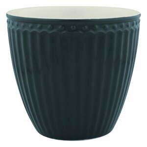Tmavosivý keramický hrnček Green Gate Alice, 300 ml