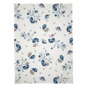 Bielo-modrá bavlnená utierka Green Gate Mozy, 50 x 70 cm