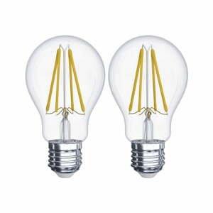 Súprava 2 LED žiaroviek EMOS Filament A60 A++, 6W E27