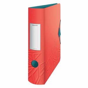 Červený mobilný zaraďovač Leitz, šírka 82 mm