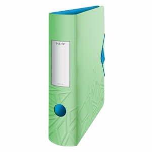 Zelený mobilný zaraďovač Leitz, šírka 82 mm