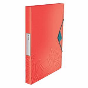 Červená škatuľa na dokumenty Leitz, A4