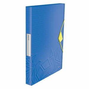 Modrá škatuľa na dokumenty Leitz, A4