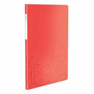 Červená katalógová kniha Leitz, 20 obalov
