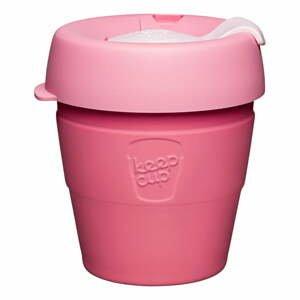 Ružový cestovný hrnček s vekom KeepCup Saskatoon Thermal, 177 ml
