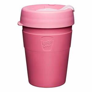 Ružový cestovný hrnček s vekom KeepCup Saskatoon Thermal, 340 ml