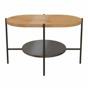 Konferenčný stôl s podnožím v čiernej farbe Skandica Arena