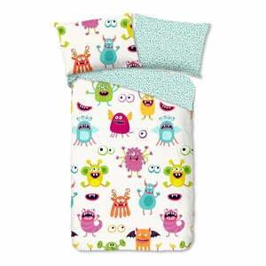 Detské bavlnené obliečky Good Morning Monsters,140x200cm