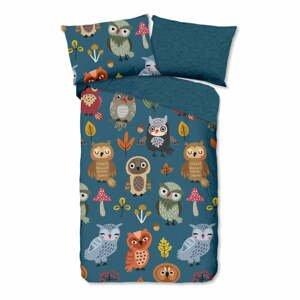 Detské bavlnené obliečky Good Morning Owls,140x200cm