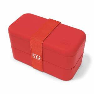 Červený desiatový box Monbento Original