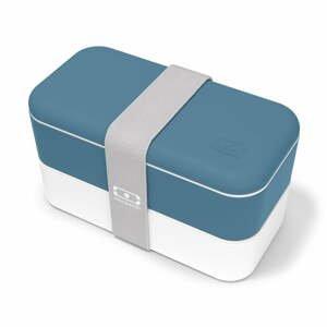 Modrý desiatový box Monbento Original