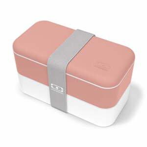 Ružový desiatový box Monbento Original