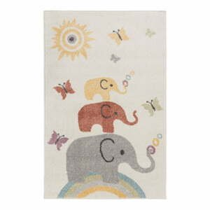 Detský koberec Flair Rugs Elephants, 80 x 120 cm